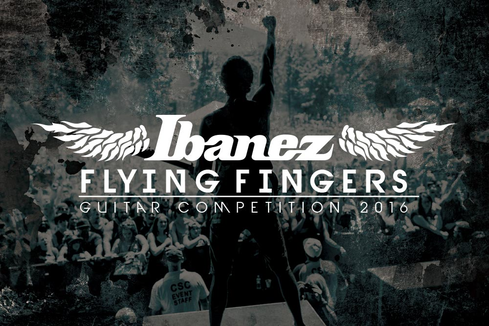 ibanez flying fingers guitar competition