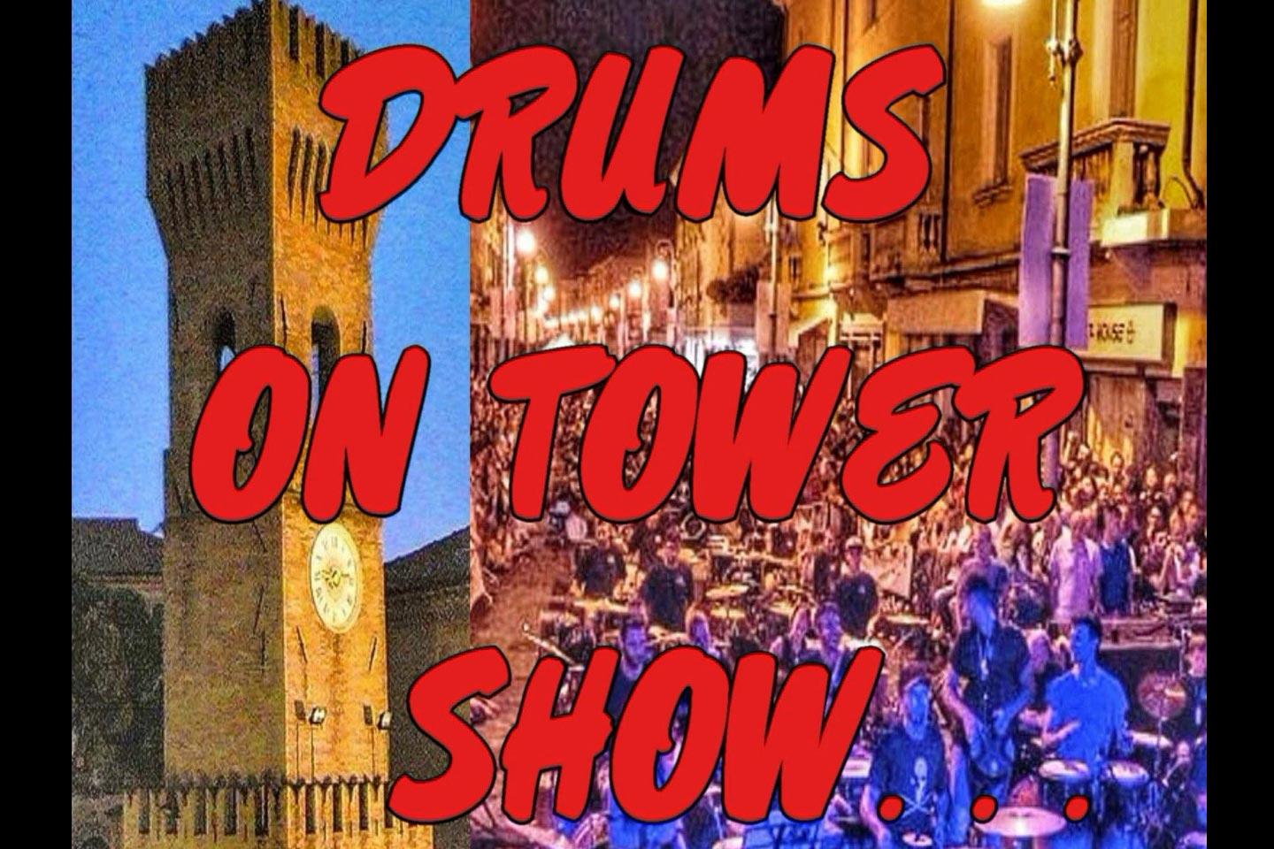 drums on tower ostra